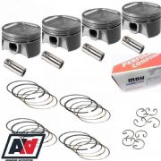 Forged Mahle Subaru 2.1 Stroker Pistons 4032 450 BHP 92.5mm
